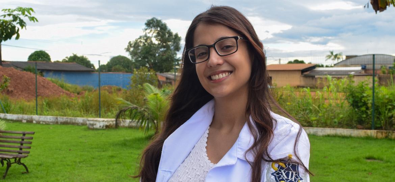 Larissa Assunção dirige o hospital de campanha da Zona Leste de Porto Velho (RO) - Ísis Capistrano/UOL