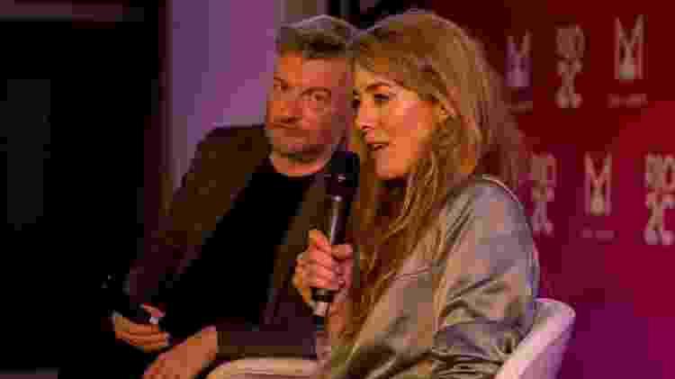 """Annabel Jones e Charlie Brooker, produtores da série britânica """"Black Mirror"""", dão seminário no Rio - Cacalos Garrastazu/Eder Content"""