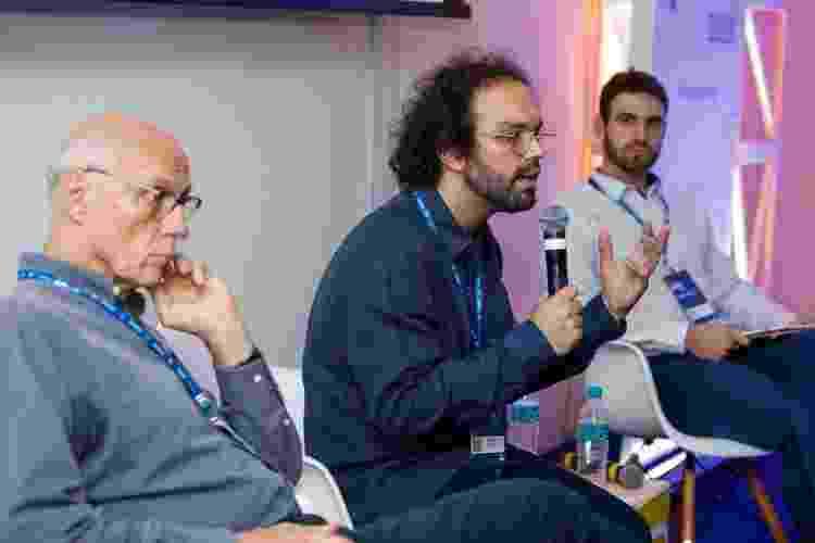 """Festival Path teve palestra que discutiu """"Renda básica universal: o que dizem os futuristas"""" - Marcelo Justo/UOL - Marcelo Justo/UOL"""