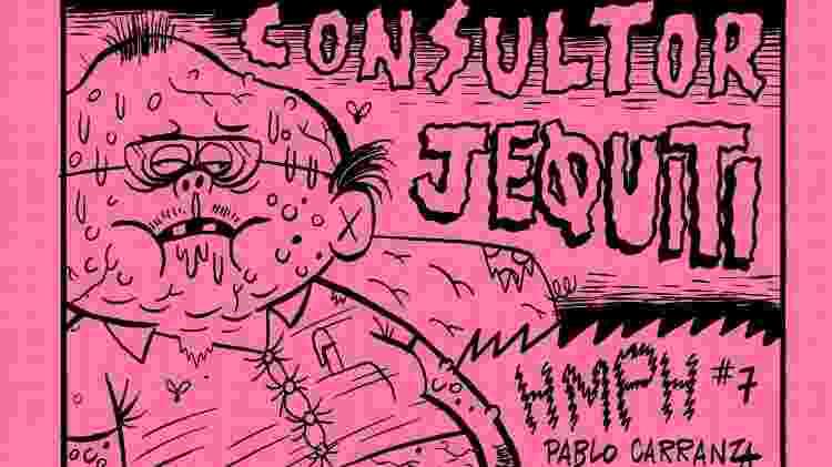 Capa do livro 'Consultor Jeøuiti' - Reprodução
