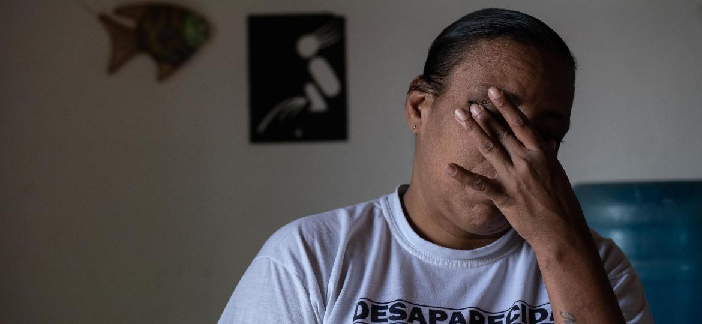 Marcele Ribeiro Silva, mãe de Polyanna Ketlyn, a menina que desapareceu na porta de casa em 2015, em Niterói - Ricardo Borges/UOL