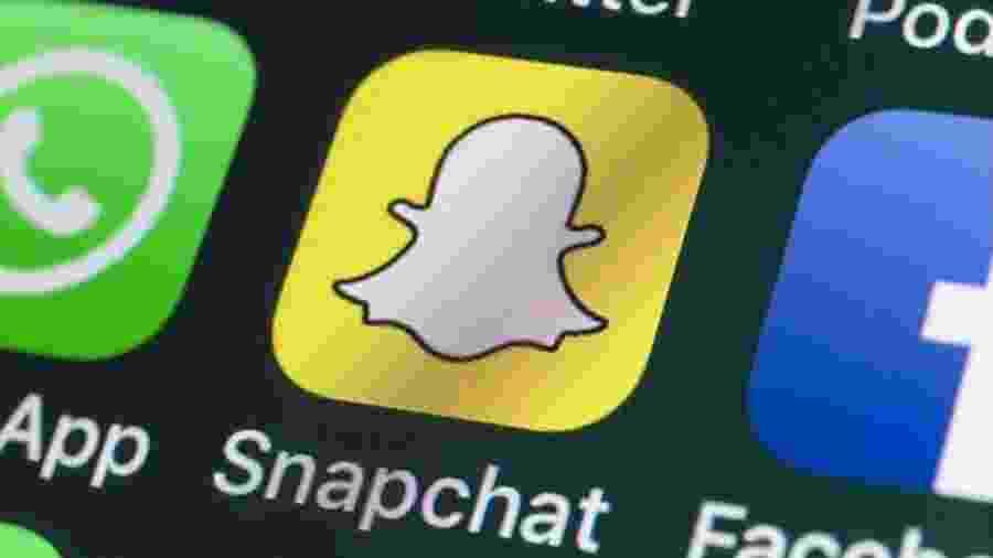 Snapchat já foi usado para vender armas nos EUA - Getty Images/BBC