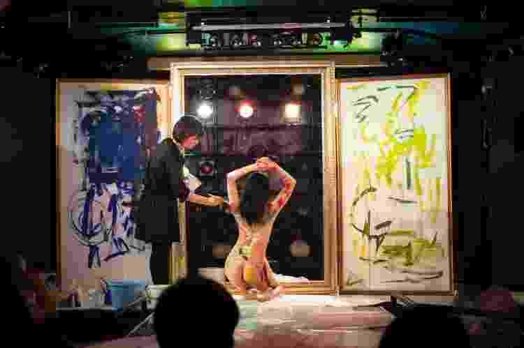 Show de nu artístico na New Dogo Music, no Japão - Reprodução