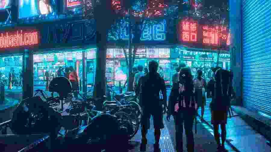 Arredores de Shinjuku, bairro de Tóquio, no Japão, antes da pandemia - Shot by Cerqueira / Unsplash