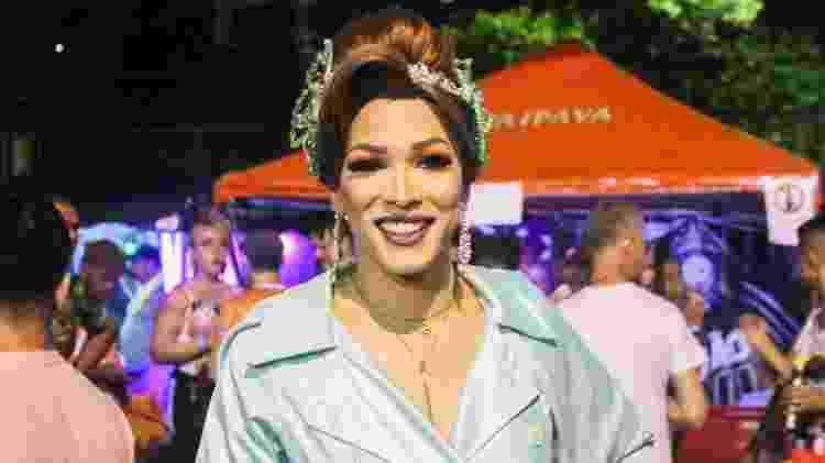 Ana Paula Arruda foi a primeira trans a assumir o posto de rainha de uma quadrilha junina - Ítalo Rômany/Eder Content