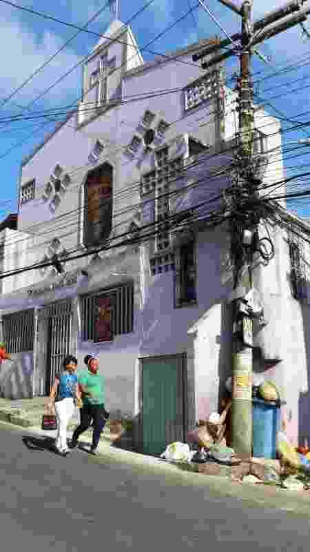 A paróquia Santa Cruz, em Salvador (BA) - Aurelio Nunes/UOL - Aurelio Nunes/UOL