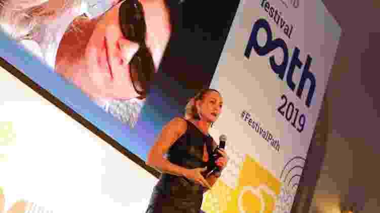 Ex-jogadora Hortência no Festival Path, em São Paulo - Mariana Pekin/UOL - Mariana Pekin/UOL