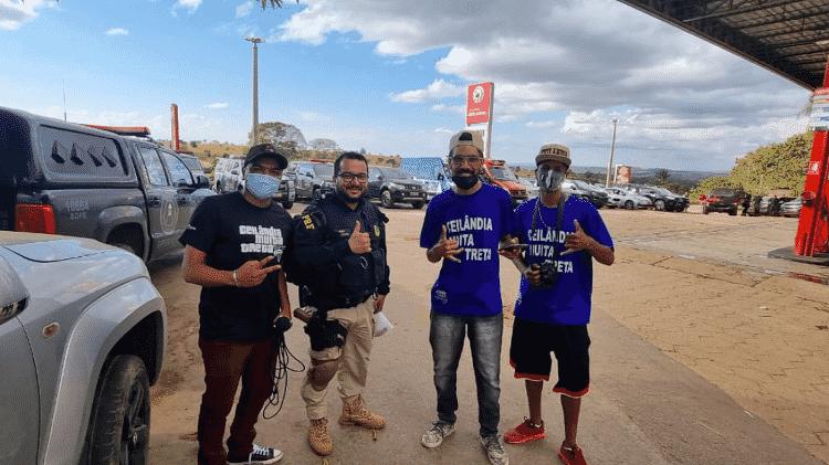 Os integrantes do Ceilândia Muita Treta acompanham as investigações do caso Lázaro Barboza - Reprodução/ Twitter - Reprodução/ Twitter