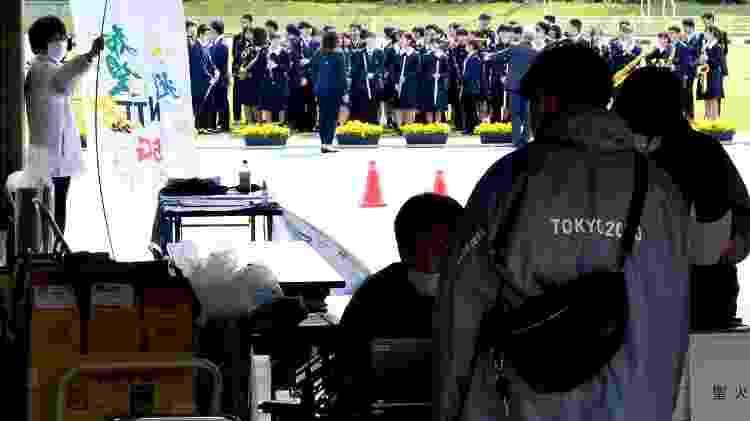 A passagem da tocha olímpica por Toyohashi (Japão) - Rodrigo Sicuro/UOL - Rodrigo Sicuro/UOL