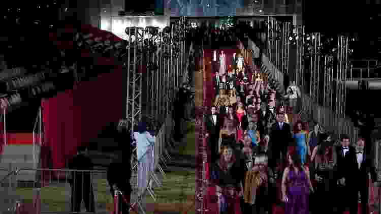 Convidados passam pelo tapete vermelho na abertura do 2º Festival de CInema de Paulínia (SP), em 2009 - Eduardo Anizelli/Folhapress - Eduardo Anizelli/Folhapress