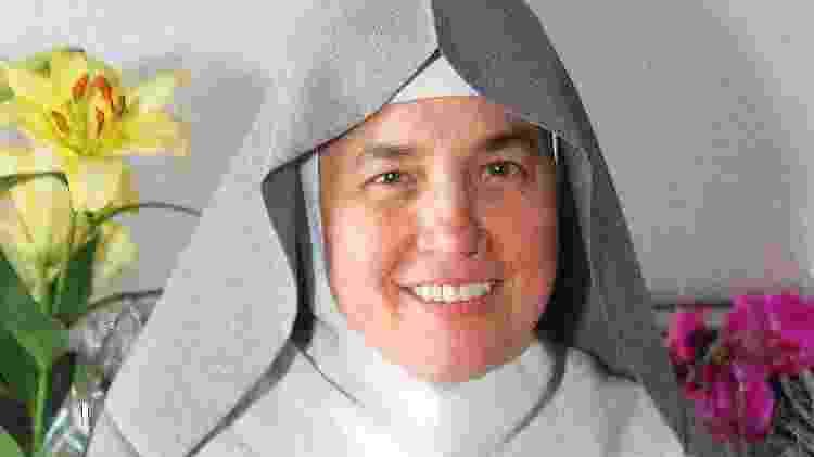 Irmã Martha Lúcia Ribeiro Teixeira, que vive no mosteiro Nossa Senhora da Paz, em Itapecerica da Serra (SP) - Arquivo pessoal