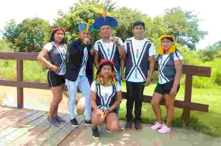 Garotos Apyãwa, grupo de forró indígena - Divulgação - Divulgação