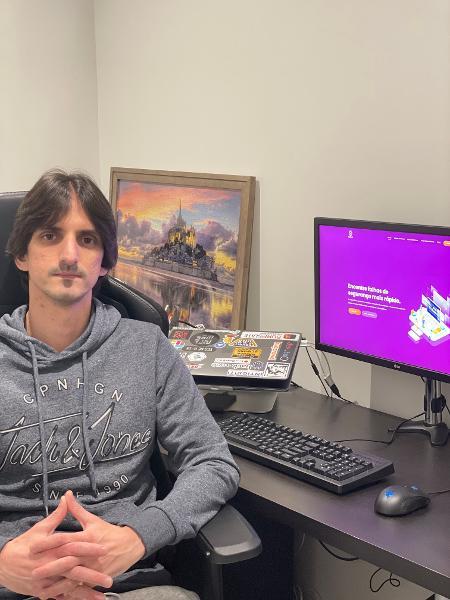 Guilherme Scombatti, bug hunter brasileiro que mora em Portugal - Guilherme Scombatti/arquivo pessoal