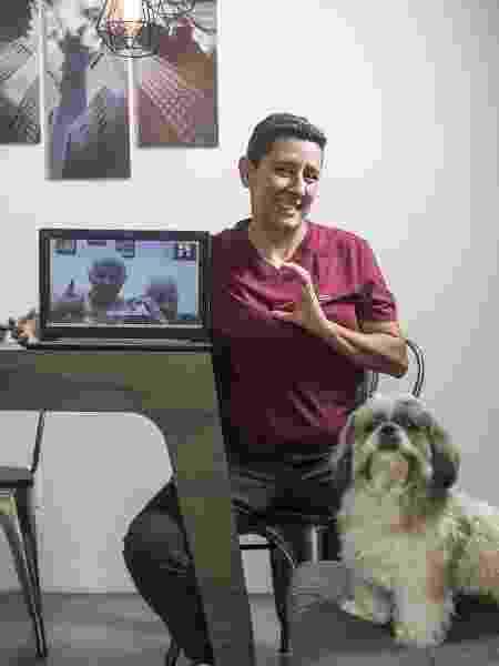 Andrea Venancino, sua mãe, sua avó e seu cão Téo - Keiny Andrade - Keiny Andrade