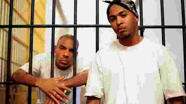 Dexter e Afro X na época em que estouraram como a dupla 509-E - João Wainer/Divulgação