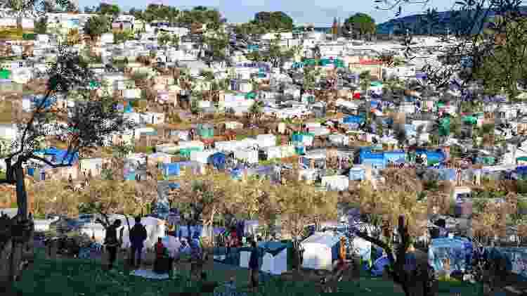 Campo de refugiados em Moria - André Naddeo