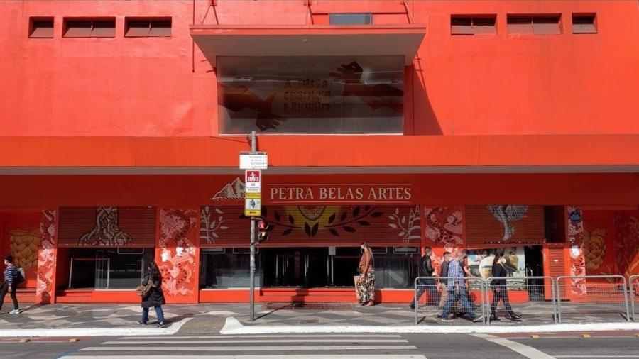 Petra Belas Artes reabre as portas na última quinta-feira (24) - Divulgação