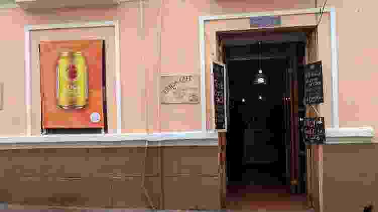 Café da Coca Nasa, no centro histórico de Bogotá - Fernanda Ezabella/UOL