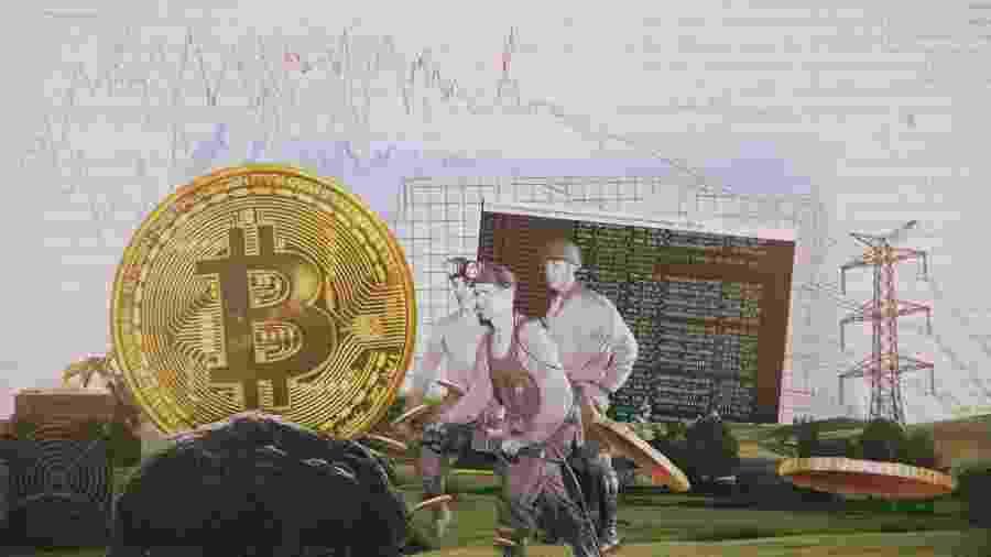 Mineração bitcoin - Daniel Neri/TAB