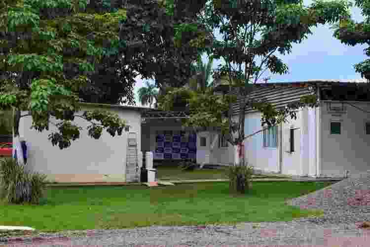 hospital de campanha da Zona Leste de Porto Velho, montado no antigo Cero (Centro de Reabilitação de Rondônia), focado em atendimento a pacientes com covid-19 - Ísis Capistrano/UOL - Ísis Capistrano/UOL