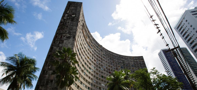 Fachada do Edifício Holiday, no Recife (PE) - Clara Gouvêa/UOL