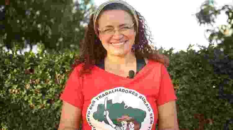 A ativista Kelli Mafort - Arquivo pessoal - Arquivo pessoal