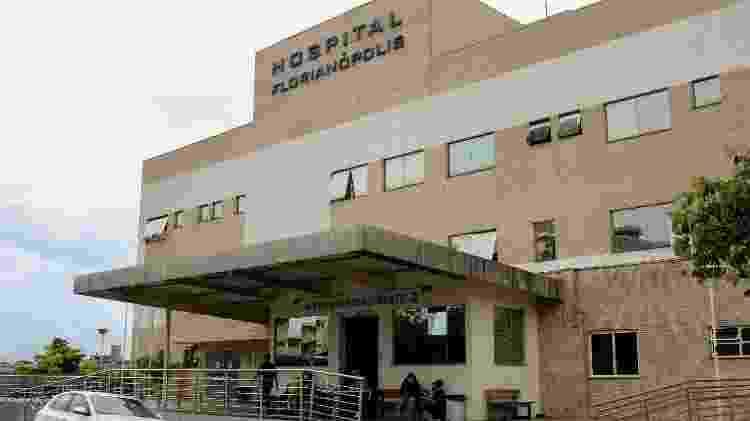 O Hospital Florianópolis, em Santa Catarina - Isadora Camargo/UOL - Isadora Camargo/UOL