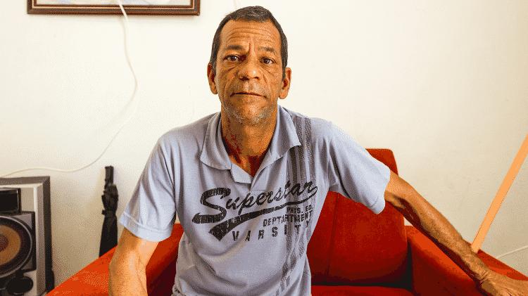 O motorista Carlos da Silva Cavalcante - Gabriel Moreira/UOL - Gabriel Moreira/UOL