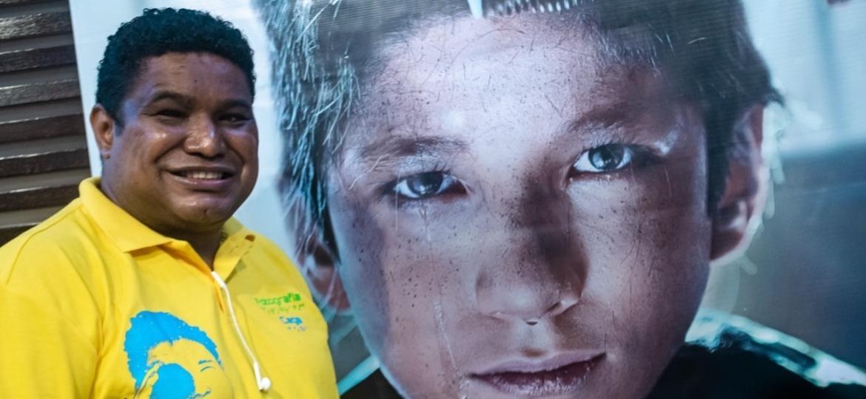 O fotógrafo João Maia, primeiro a fotografar duas Paralimpíadas - Marco Oton/UOL