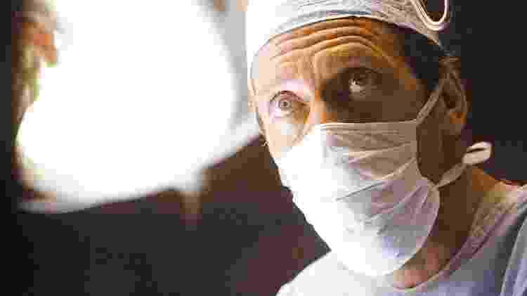 """O ator Hugh Laurie interpreta o médico protagonista principal da série """"House"""", do canal NBC, dos EUA  - Divulgação"""