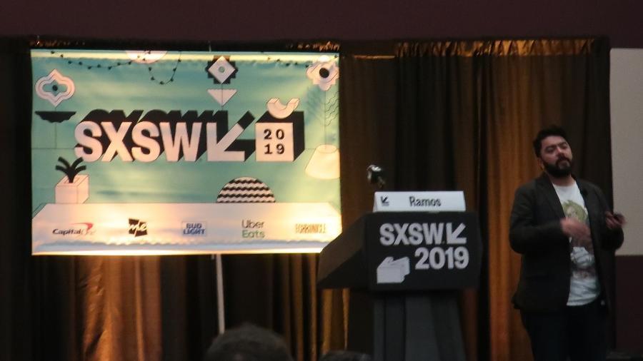 Desenvolver mexicano Jesus Ramos sobre algoritmo ético no South by Southwest - Jacqueline Lafloufa