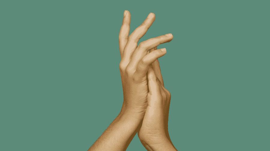 Língua Brasileira de Sinais (Libras) é reconhecida oficialmente no Brasil, mas a comunidade surda ainda não recebe informações básicas sobre a covid-19 - Reprodução