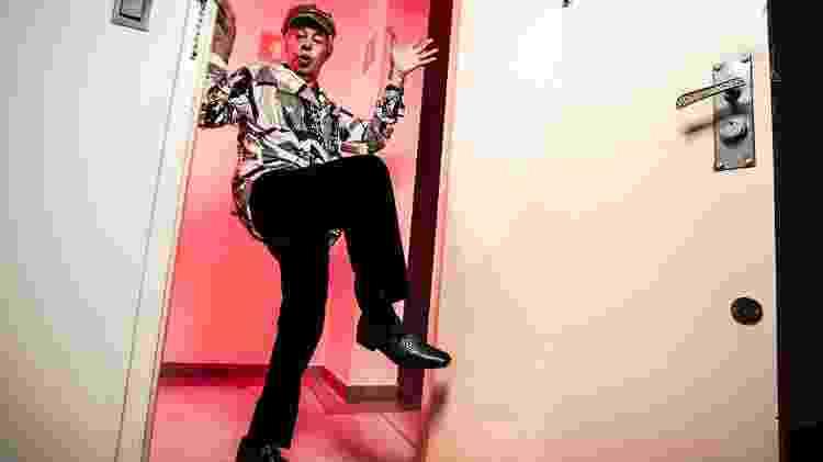 Darby Daniel: faz-tudo da noite, criador do Miss Bumbum, comemorou os 80 anos em uma sauna gay de São Paulo - Fernando Moraes/UOL - Fernando Moraes/UOL