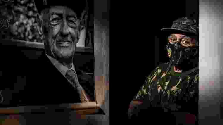 Antônio Carlos Garofalo, filho de Miguel Garofalo, ex-combatente da Segunda Guerra Mundial, quer fundar um museu com as memórias do pai  - Fernando Moraes/UOL - Fernando Moraes/UOL