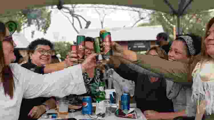 Dia do Gaúcho: um grupo de turistas do Recife foi ao parque para entender o motivo do feriado no estado - Tiago Coelho/UOL - Tiago Coelho/UOL