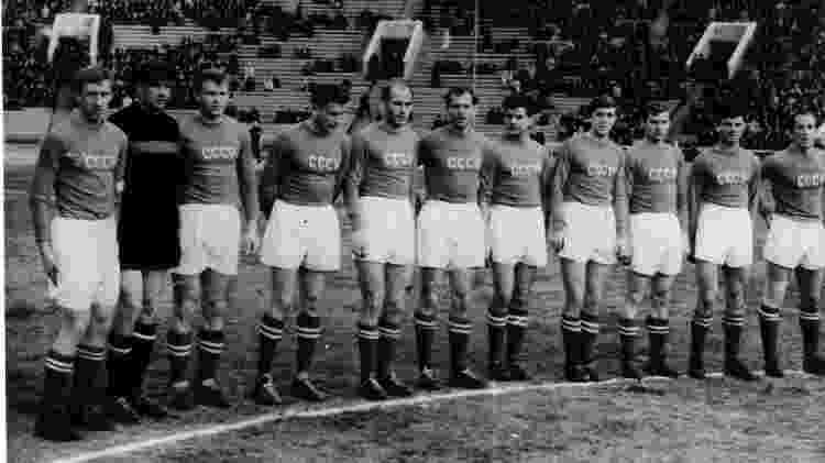 Seleção russa na Copa do Mundo de 1958 - UPI