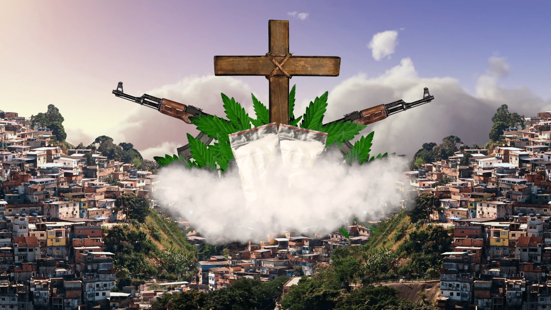 NAÇÃO DE JESUS: Fuzis ungidos e grafite gospel em muros da comunidade: para facção do Rio, a lei do tráfico é a lei de Deus