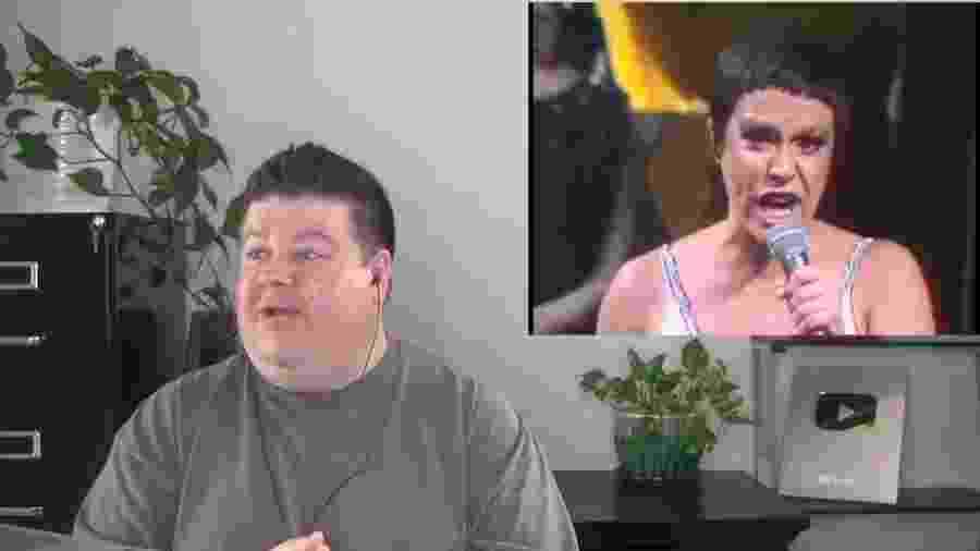 O professor de voz Andy Davis descobriu Elis Regina e gravou sua reação para milhares de espectadores verem  - Reprodução/ YouTube