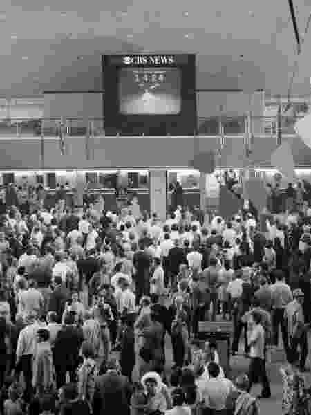 Transmissão do lançamento do Apollo 11 foi um fenômeno midiático e alcançou 600 milhões de pessoas em todo o mundo - CBS/Divulgação