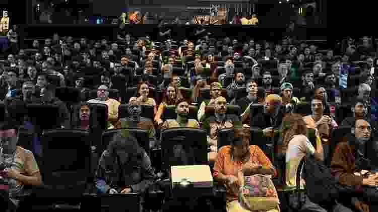 Sala cheia durante o Festival Mix Brasil 2019, no Cinesesc, em São Paulo - André Fischer/Divulgação - André Fischer/Divulgação