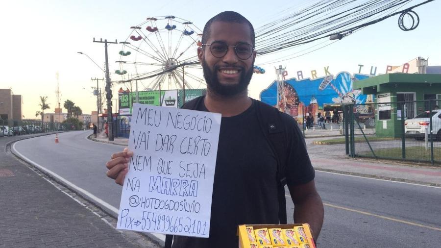 O vendedor Marvin Pereira Farias, 22 - Arquivo pessoal