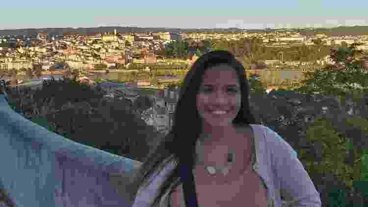 Lívia Moreira, enfermeira brasileira em Coimbra - Arquivo pessoal - Arquivo pessoal