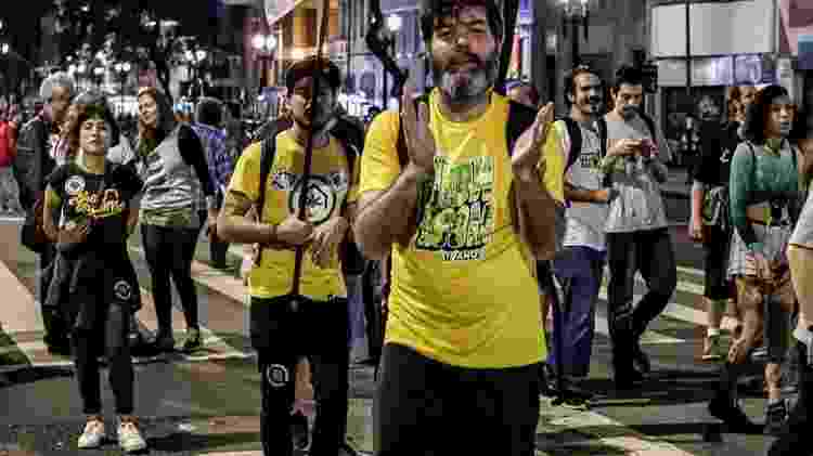 William Lantelme na Marcha da Maconha de São Paulo, 2019 - Sandro Marandueira/Divulgação - Sandro Marandueira/Divulgação