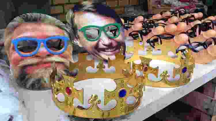 Máscaras de Carnaval vendidas em Copacabana eram uma forma para escapar das câmeras de reconhecimento facial - Jordan Sousa/data_labe - Jordan Sousa/data_labe