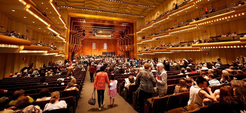 Filarmônica da Nova York, no Avery Fisher Hall - Wikimedia Commons