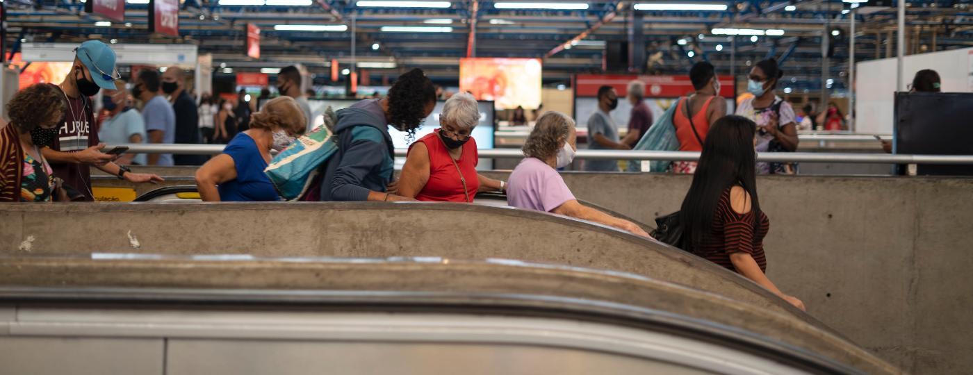 Idosos entre 60 a 64 anos explicam o impacto negativo do fim da gratuitidade do transporte público em SP - André Porto/UOL