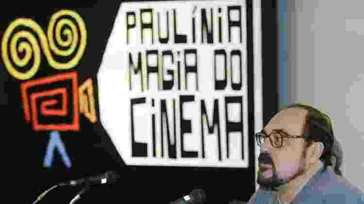 """Crítico Rubens Ewald Filho, no lançamento do projeto Studio Cinematográfico """"Paulínia Magia do Cinema"""" - L.C.Leite/Folhapress (4/7/2006) - L.C.Leite/Folhapress (4/7/2006)"""