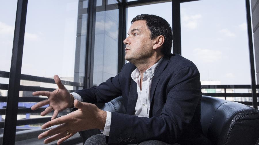 Em seu novo livro, Piketty traz uma compilação de seus estudos, conhecidos por terem influenciado pesquisadores em vários países - Eduardo Knapp/Folhapress