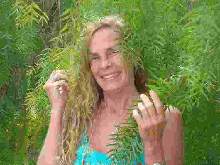 A ex-modelo Vicky Schneider, em foto de 2013 - Arquivo pessoal - Arquivo pessoal