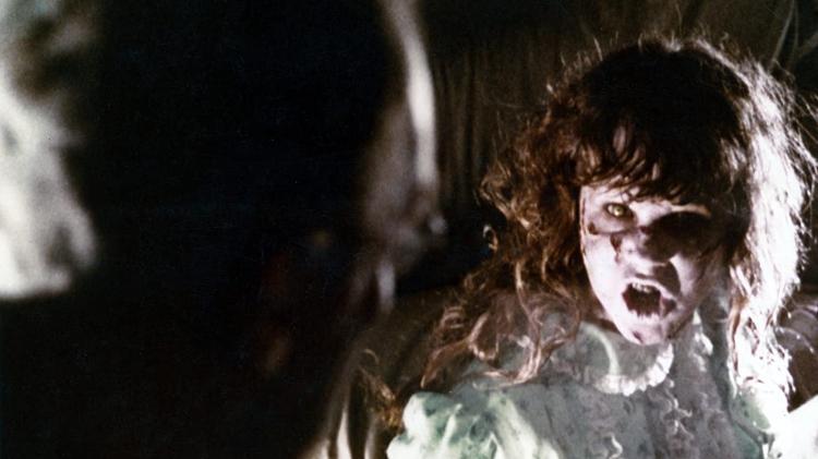 """Cena de """"O Exorcista"""" (1973) - IMDb/Reprodução - IMDb/Reprodução"""